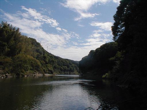 静かな桜渕