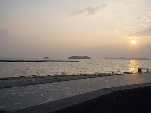 夕暮れの三河大島様
