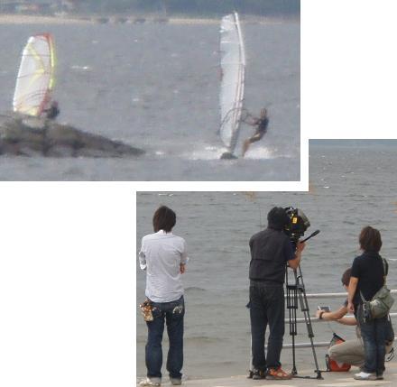 東海TV撮影中:上手く撮れたかな?