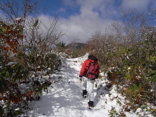 雪の大日ヶ岳