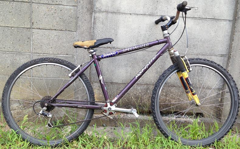 1995年製スペシャライズドのロックホッパーが原型